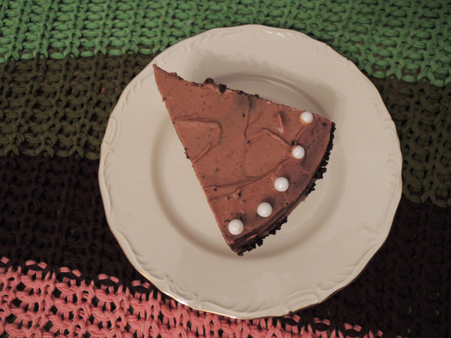 Nutella en Oreo taartpuntje