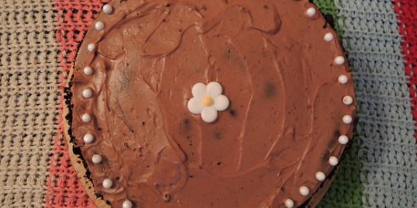Goddelijke Nutella & Oreo taart