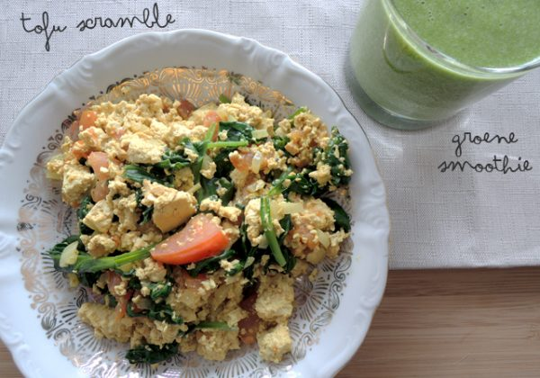 Scrambled tofu (Vegan)