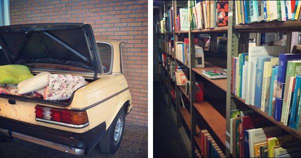 Kringloopvondsten: Kofferbakverkoop & Boeken