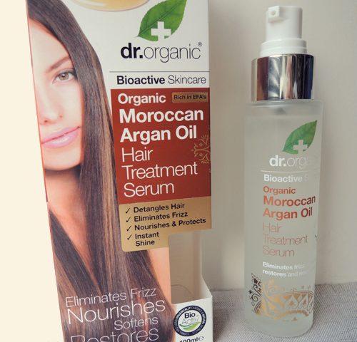 Dr. Organic Moroccan Argan Oil - Hair Treatment Serum