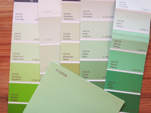 Slaapkamer Kleuren Groen : Verf Groene