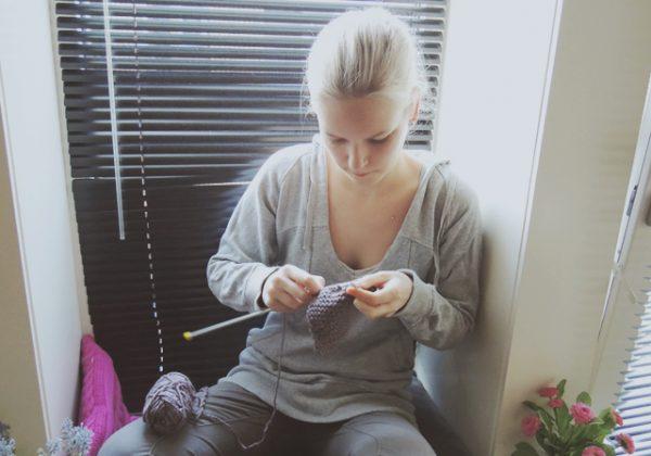 Leren breien