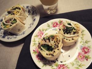 Hummuswraps met avocado (Vegan)