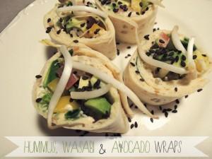 Recept: Wraps met hummus, wasabi en avocado | IKBENIRISNIET