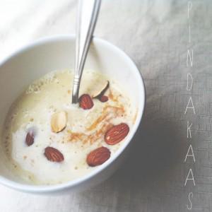 Havermoutpap met pindakaas | IKBENIRISNIET