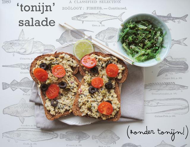 Vegetarische Tonijnsalade | IKBENIRISNIET