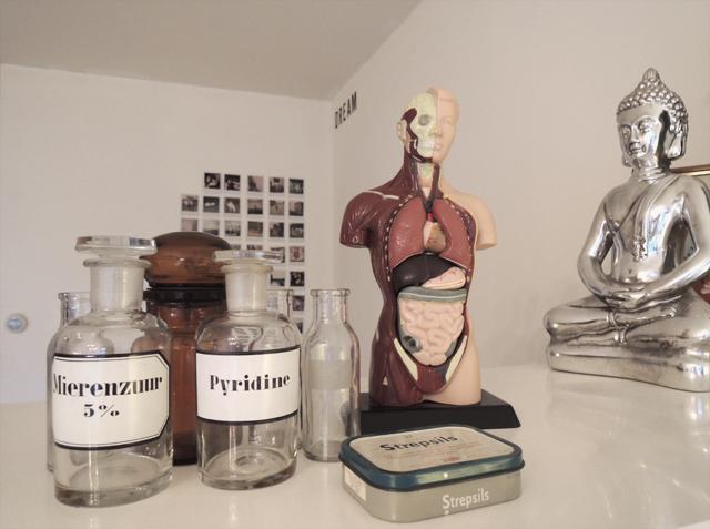 huis-apothekersflesjes