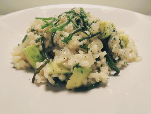 Recept: Risotto met zeekraal | IKBENIRISNIET