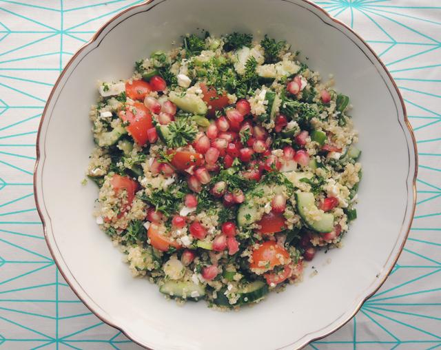 quinoa-met-granaatappelpitjes
