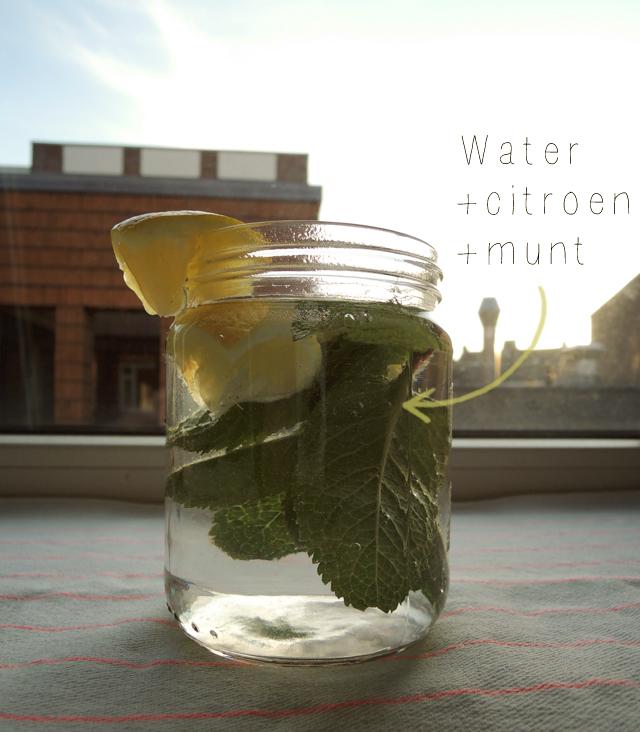 water-met-citroen-en-munt