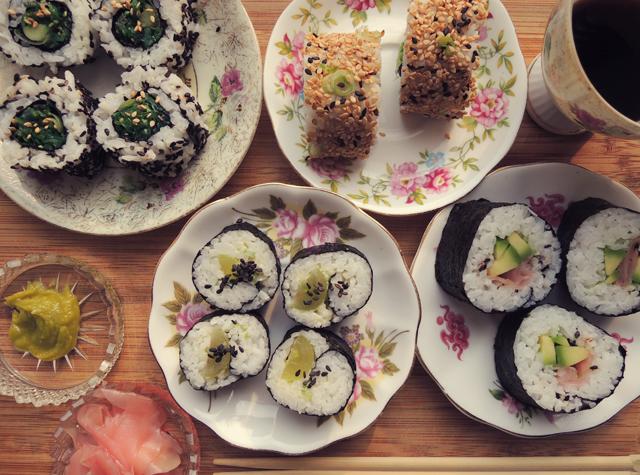 vegetarische-sushi