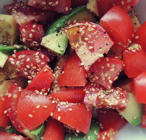 tomaat-avocado-salade
