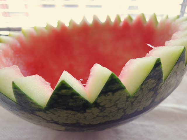 uitgeholde-watermeloen
