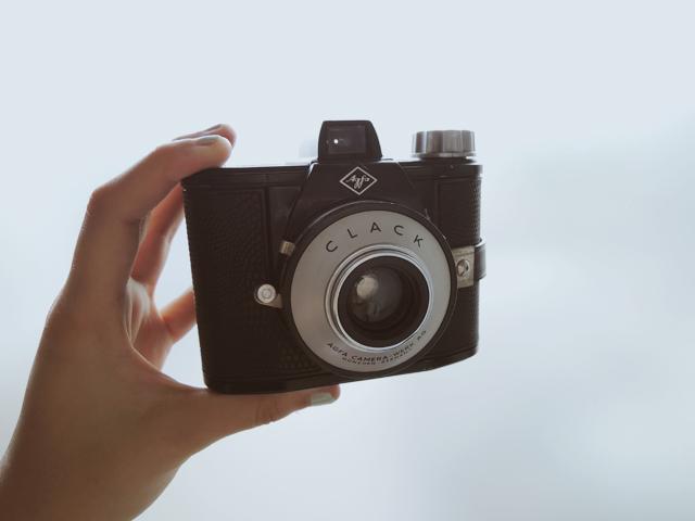 afga clack camera vintage