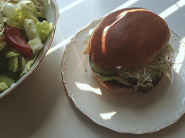 de vegetarische slager vegaburger