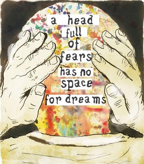 no space for dreams