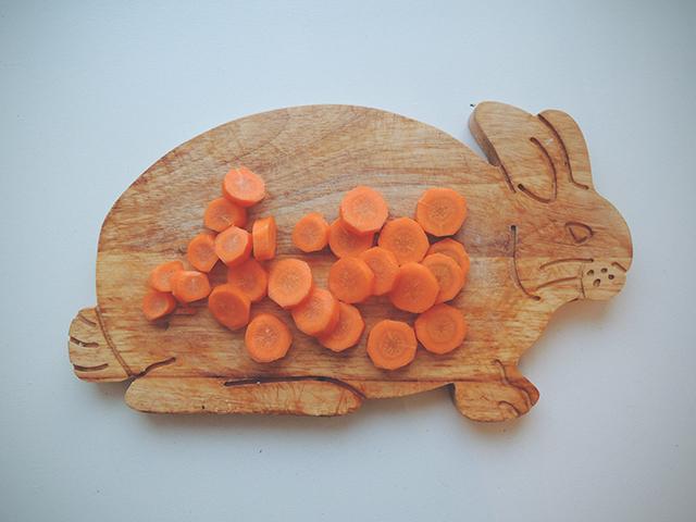 konijnen snijplank