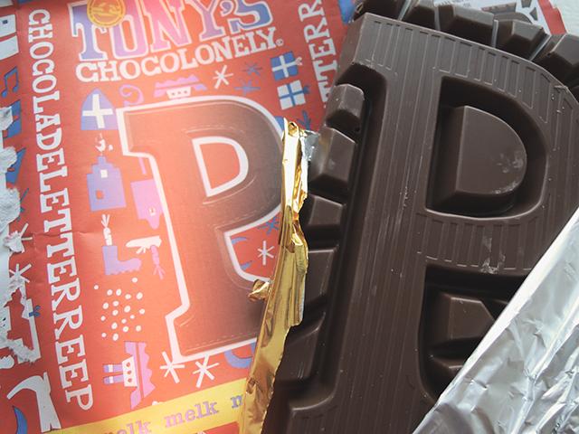 p van chocolade