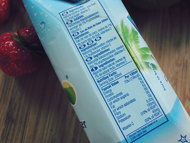vita coco ingredienten