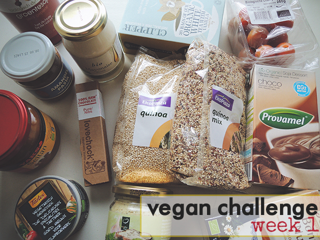 Vegan Challenge week 1