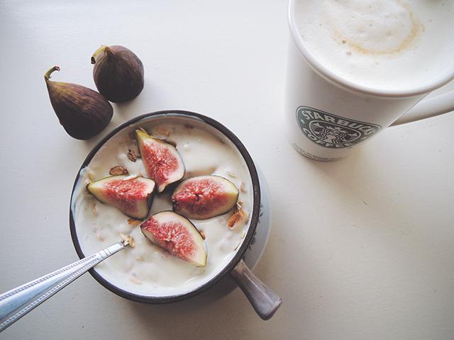 ontbijt met vijgen