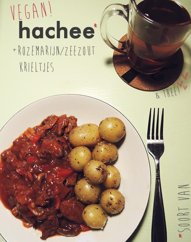 Veganistisch hachee recept