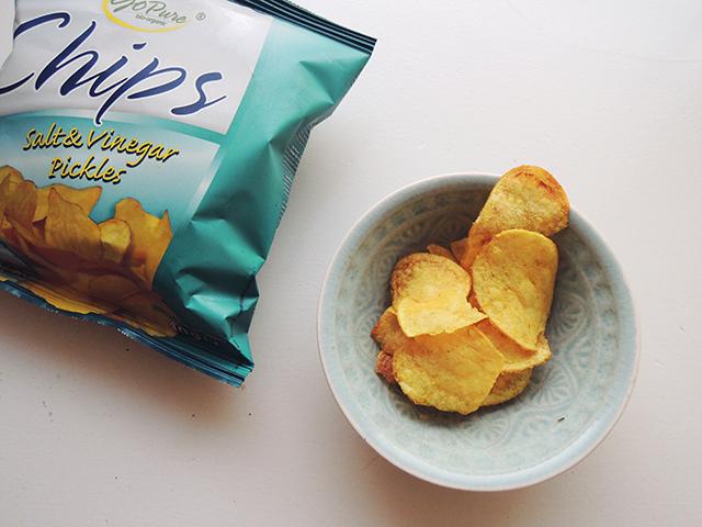 azijn chips