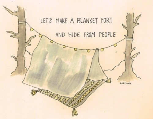 blanket fort by butthorn
