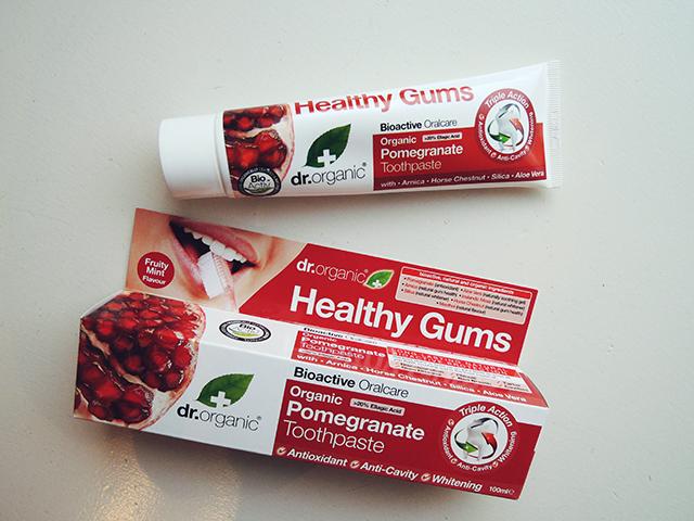 dr organic healthy gums