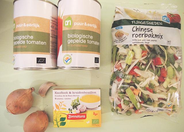 ingredienten simpele soep
