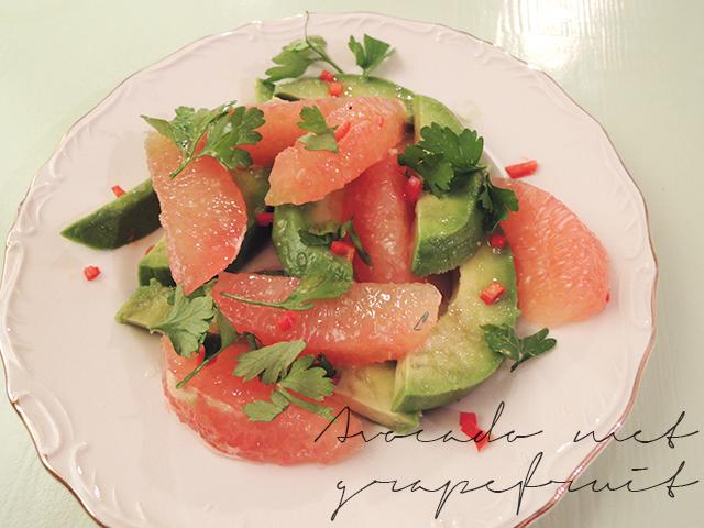 vega kerst avocado grapefruit