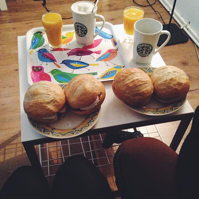 Verhuizen: ontbijt
