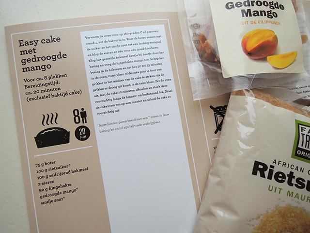 Fairtrade baking kit