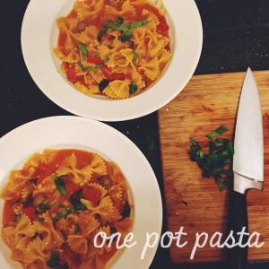 Recept: One Pot Pasta