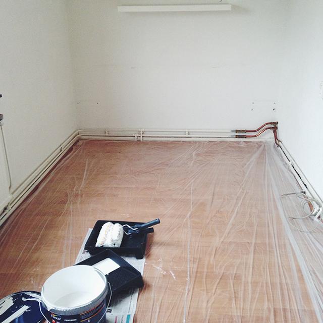 Verhuizen: Slaapkamer verven
