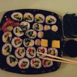 Verhuizen: Sushi