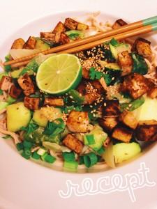 Recept: Groene Curry met Tofu