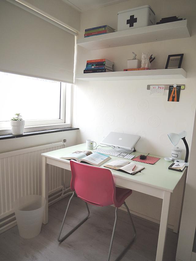 De zen studeerkamer ikbenirisniet - Hoe een kleine woonkamer te voorzien ...