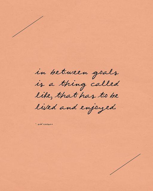 in between goals