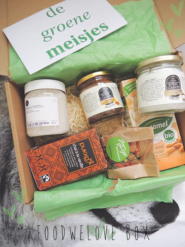 De Groene Meisjes Food We Love box