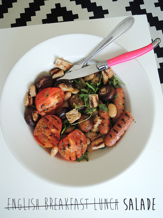 Recept: English Breakfast Salade
