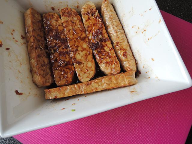 Recept: tempeh marineren