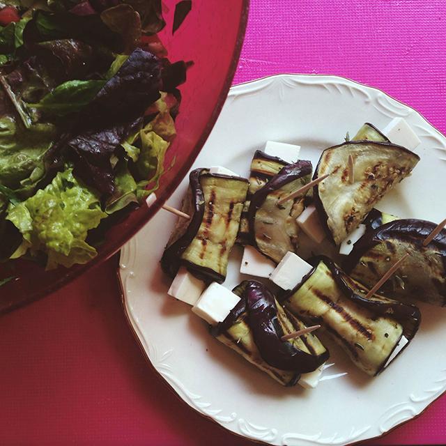 auberginerolletjes recept