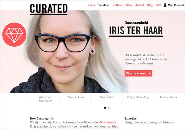 iris ter haar voor curated