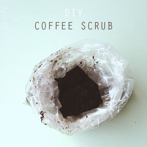 DIY: Coffee scrub