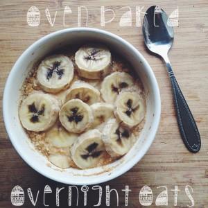 Overnight oats uit de oven