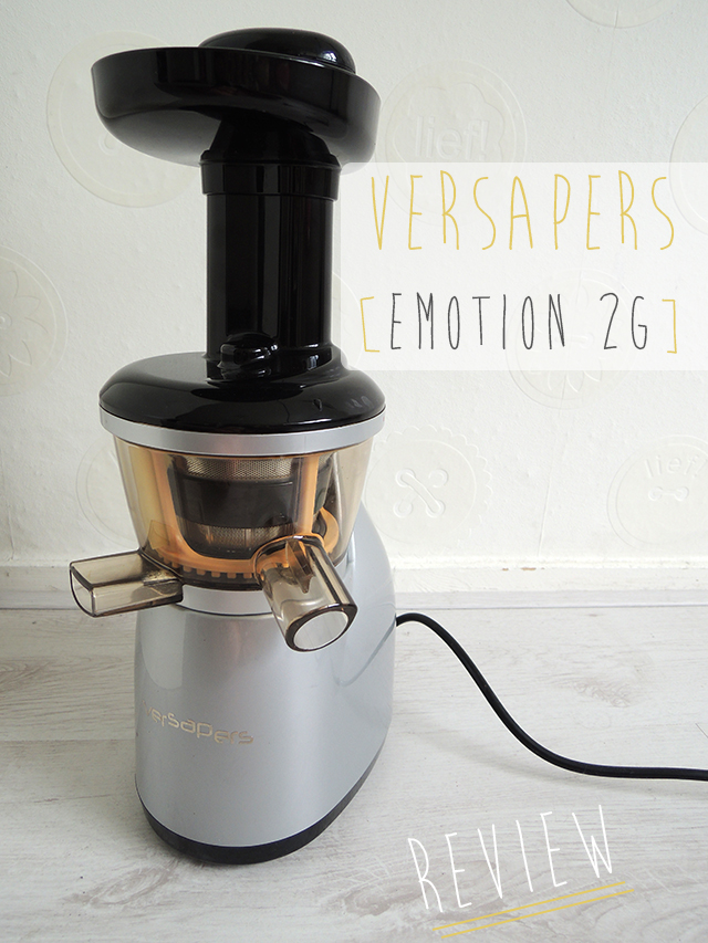 review versapers slowjuicer