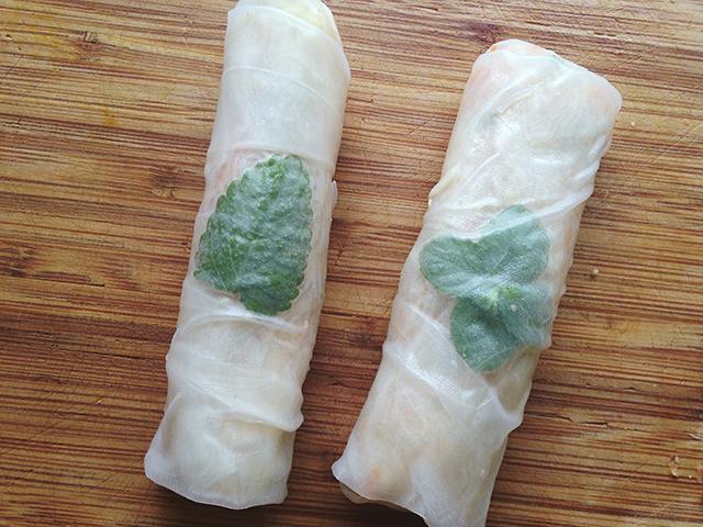 Vegetarische zomerrecepten - Summer rolls
