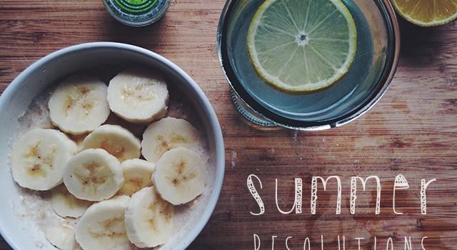 Summer Resolutions: Ontbijten